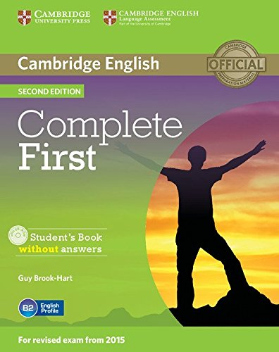 Complete First Student's Book without Answers with CD-ROM Second Edition