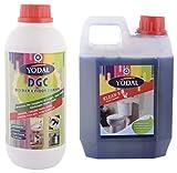 #7: Yodal Combo of Klean-X Toilet Cleaner & DGC Descaler