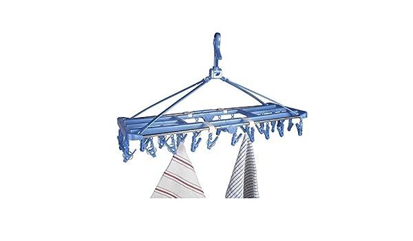 Wäschespinne Stand Wäschetrockner Trockenleine Wäscheständer Camping Balkon