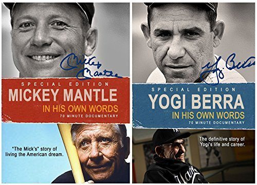 NY Yankees Doubleheader - Mickey Mantle and Yogi Berra: In Their Own Words - 2 DVD Set by Mickey Mantle - Mickey Mantle Yankees