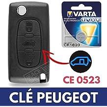 Caja llave – Carcasa de mando a distancia Utilitaire Peugeot Partner □ Expert □ Bipper □