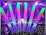 20 Palos de espuma luminosos Led multicolor ENTREGA 1-3 DÍAS