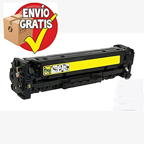 GOLDAN REMANUFACTURADO HP TONER CE412A (Nº 305A) Amarillo Reciclado 2.600 Paginas para LaserJet Pro M540 Series / M470 Series ENTREGA GRATIS 24/48h