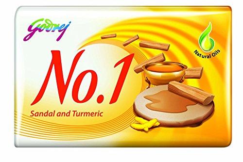 Godrej No 1 Sandal & Turmeric (4x100g) (Pack of 2)
