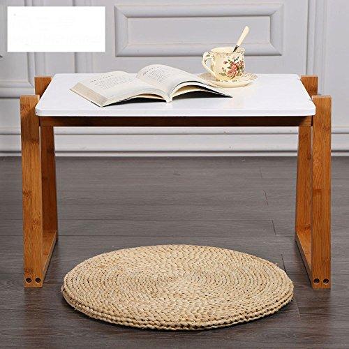 ZYIXING Moderne Einfache Seite Rechteckige Couchtisch Sofa Beistelltisch Massivholz Wohnzimmer Schlafzimmer Ecke EIN Paar Kleine Quadratische...