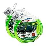 2x SONAX 03864000 Scheibenreiniger Konzentrat Green Lemon 3L