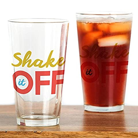 CafePress – Shake It Off – Pint-Glas, 16 oz Trinkglas