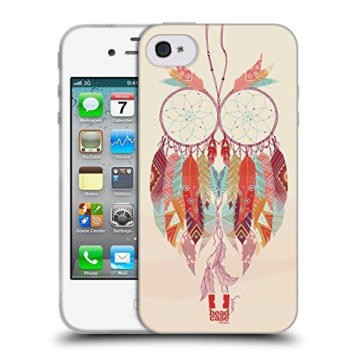 Head Case Designs Psychédélique Chaud Rose Attrape-Rêves 3 Étui Coque en Gel molle pour Apple iPhone X Mandarine Festive