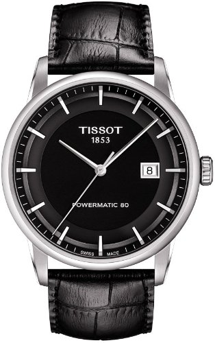 Tissot Herren-Armbanduhr Analog Automatik Leder T086.407.16.051.00 (Tissot Uhren Männer Luxus)