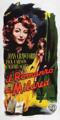 Price comparison product image Mildred Pierce Poster Movie Italian 13 x 28 In - 34cm x 72cm Joan Crawford Jack Carson Zachary Scott Eve Arden Ann Blyth Bruce (Herman Brix) Bennett