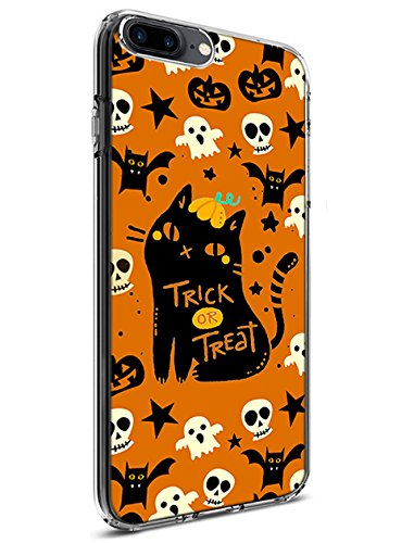 Schutz Hülle Slim Case für Apple iPhone 7Plus (2016)/iPhone 8Plus (2017) Happy Halloween Serie, Design-8