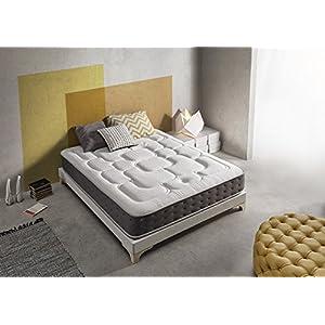 Living Sofa SIMPUR Relax MATRATZE ROYAL TOP Komfort 100X190 cm | ERGONOMISCH UND INNOVATID | PUNKTELASTISCH | KÖRPERANPASSEND ATMUNGSAKTIV UND VENTILIEREND | HÄRTEGRAD H2-H3 (MITTELFEST) | HÖHE 30 cm