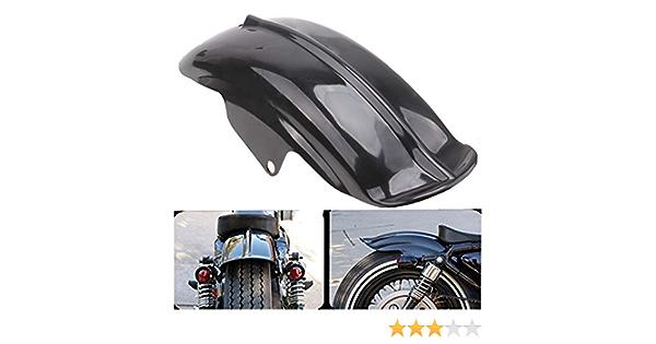 Possbay Motorrad Kotflügel Fender Schutzblech Für Sportster Solo Bobber Chopper Cafe Racer Auto
