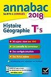 Histoire Géographie Tle série S : Sujets et corrigés