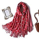 DXIU 2019 Winter Schal Für Frauen Fashion Double Side Farben Lady Cashmere Schals Pashmina Tücher Und Wraps Warme Bandana Hijabs-in Frauen 42