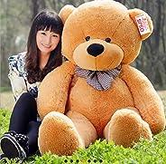 OSJS Soft Toys Lovable/Huggable Teddy Bear for Girlfriend/Birthday Gift/Boy/Girl Brown (90 cm)