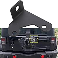 Camoo Jeep Spare Tire CB Antenna Mount For Jeep Wrangler Unlimited Rubicon Sahara JK 2/4 Door 2007-2016 by Camoo - Wrangler Unlimited Rubicon