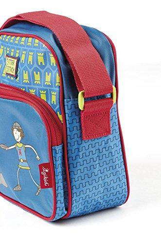 sigikid, Jungen, Kindergartentasche Ritter, Ritter Rettich, Blau/Rot, 24011 Kindergartentasche / Ritter Rettich
