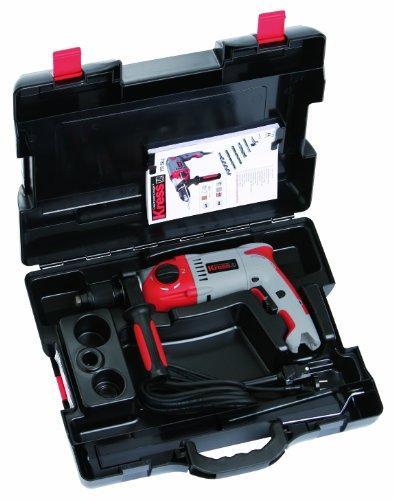 Kress 98043805 Koffer Klick-Box II Bohrgeräte Pistolenform inklusive Einlage Tragekoffer Bohrgeräte, schwarz - 2
