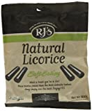 RJ's Natural Soft Eating Natural Licorice Bag 300 g (Pack of 3)