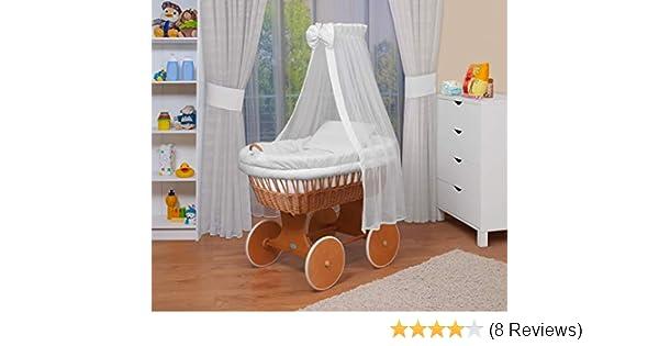 Babybay original beistellbett inkl stubenwagen weiß u ac