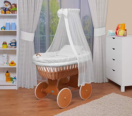 WALDIN Baby Stubenwagen-Set mit Ausstattung,XXL,Bollerwagen,komplett,18 Modelle wählbar
