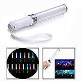 OFKPO 1 pcs Multicolor LED Clignotant Glow Light Stick, Convertible 15 Couleurs Glow Baton pour Fête, Concert, Festivals, Anniversaires, Jouets pour Enfants...