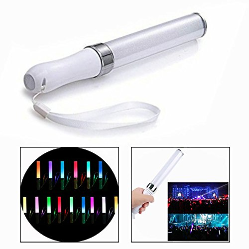 OFKPO LED Leuchtstab Party Stick für Partys und Konzerten (15 Farbe)
