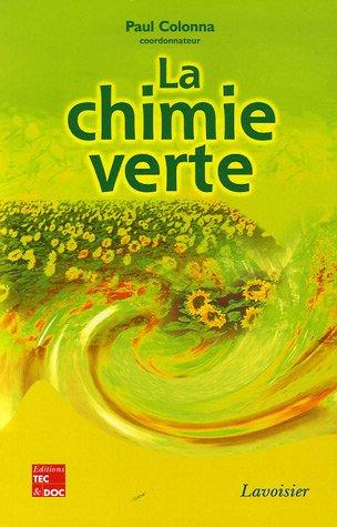 La chimie verte