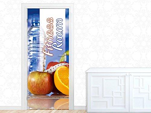 porta-porta-poster-murale-per-le-iscrizioni-industriale-cucina-palestra-mela-92x213cm