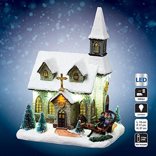 Village de Noël - Lumineux - Eglise