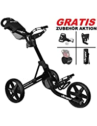 Clicgear Trolley 3.5 + Negro Brillante, Nuevo Color 2016