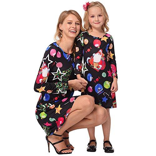 Schneeball Kostüm - Costour Damen Weihnachtskostüm Glücklicher Stern EIS-Schneeball Eltern-Kind-Kostüm