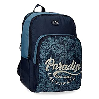 510KMNm2I1L. SS324  - Mochila doble compartimento 44cm adaptable Roll Road Palm