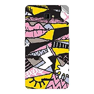 Garmor Designer Mobile Skin Sticker For Spice MI 509 - Mobile Sticker