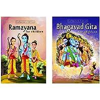Ramayana & Bhagvad Gita for Children (Set of 2 Premium Quality Books)