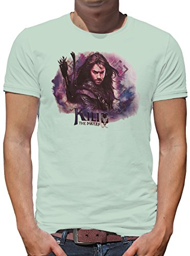 TLM The Hobbit - Kili T-Shirt Herren XL Pale (Frodo Kostüm Billig Beutlin)