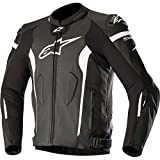Alpinestars Missile Leather Giacca - Tech-Air Compatible Nero Bianco Air 48