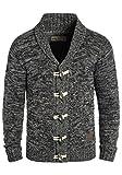 SOLID Prewitt Herren Strickjacke Cardigan mit Schalkragen aus 100% Baumwolle