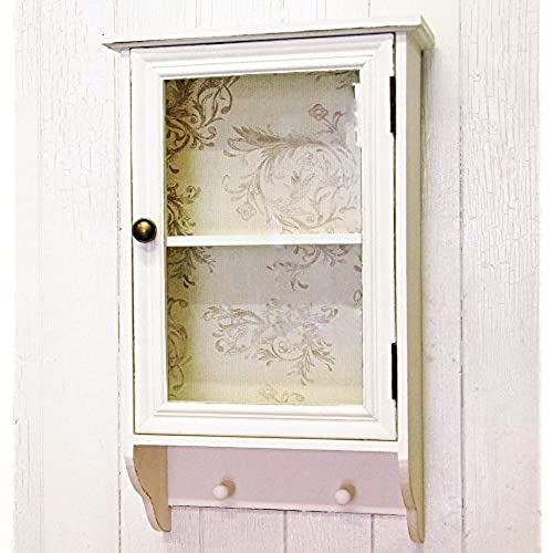 shabby chic bathroom cabinet amazoncouk - Bathroom Cabinets Shabby Chic