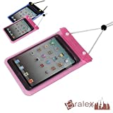 BRALEXX Universal Wassertasche passend für Blaupunkt LIVRO, Pink, 7 Zoll