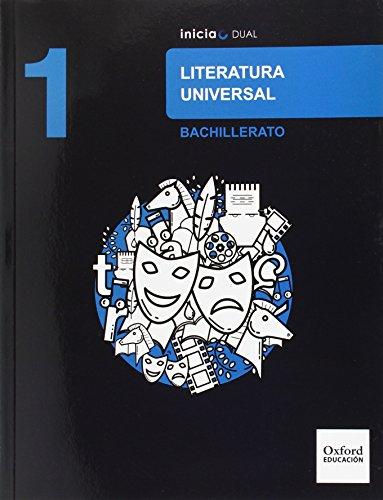 Literatura universal libro del alumno bachillerato 1 (inicia dual)