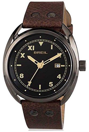 Breil Reloj Analogico para Hombre de Cuarzo con Correa en Cuero TW1670