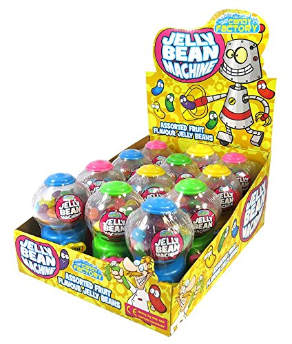 Mini Jelly Beans Machines 35G (Zed Candy) 12 Count (Machine Bean)