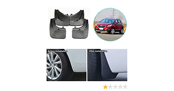 New Guards Genuine Peugeot 3008 Pair Of Front Mud Flaps 9603S6