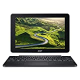 Acer S1003- Ordenador Portátil 2 en 1 Táctil (Intel Atom x5-Z8300, 2 GB RAM, eMMC 32 GB, Intel HD Graphics, Windows 10); Negro - Teclado QWERTY Español