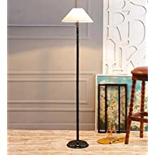 Off White Khadi Cotton Designer Stick Floor Lamp /Standing Lamp By New Era For Living Room /Drawing Room/Office/Bedroom/Decoration /Corner/Gift/Lobby