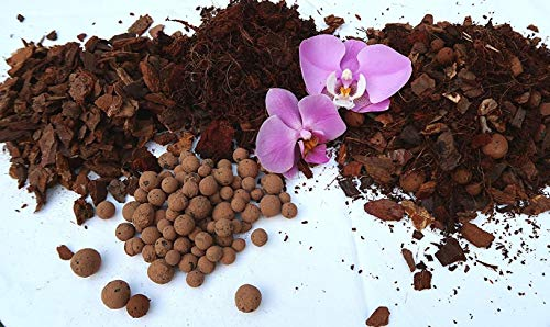 Waterbirds Orchideenerde, Orchideensubstrat, Phalaenopsiserde, Hochwertige Spezialmischung 5L