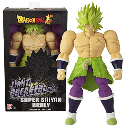 Dragon Ball- Super Saiyan Broly Limit Breakers, Multicolor (Bandai 36237)