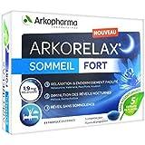 ARKORELAX SOMMEIL FORT 1,9mg melatonine 5 extraits de plantes 15c omprimé (15 jours